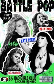 Battle Pop - Bad girls club(flat)