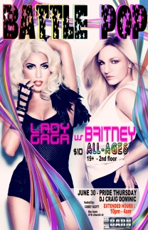 Battle Pop Gaga v britney