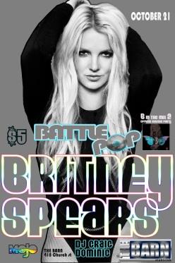Britney B in the mix Battle Pop (4x6 flat)
